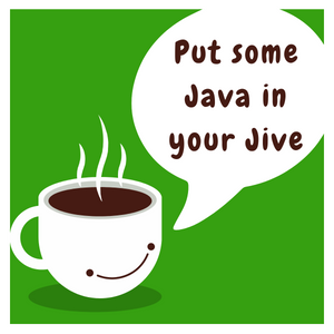 Jivin' Java Coffee Mug - Green