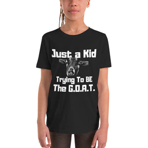 G.O.A.T Youth Short Sleeve T-Shirt