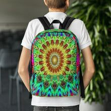 Load image into Gallery viewer, Laptop Bag Backpack - Mandala Sunrise