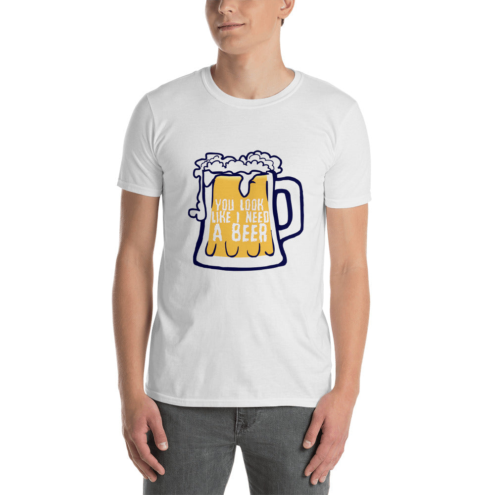 Beer Short-Sleeve Unisex T-Shirt