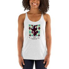 Load image into Gallery viewer, I don't know her BFF Women's Racerback Tank