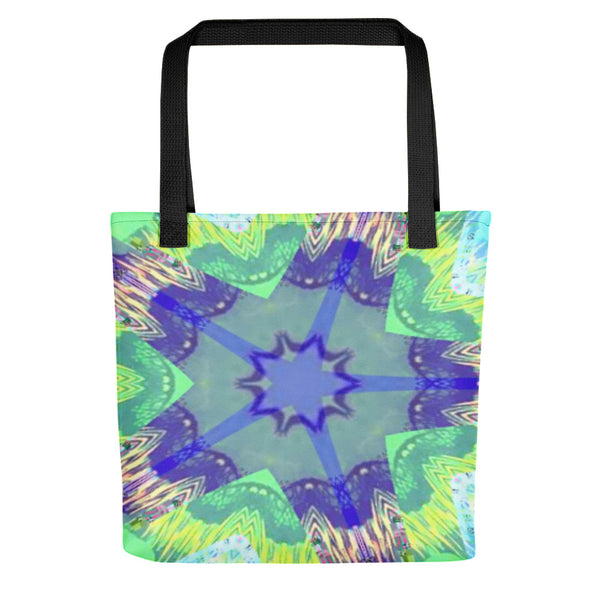 Easter Egg Print Book Tote bag