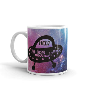 Cool and cute UFO Abducted- Mug