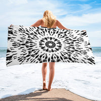 Black and White Towel