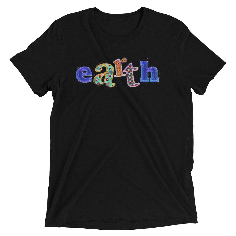 Earth is Art Short sleeve t-shirt