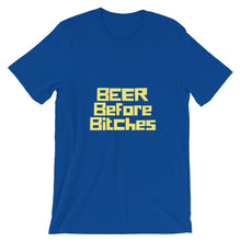 Load image into Gallery viewer, Beer Before Bitches Short-Sleeve Unisex T-Shirt