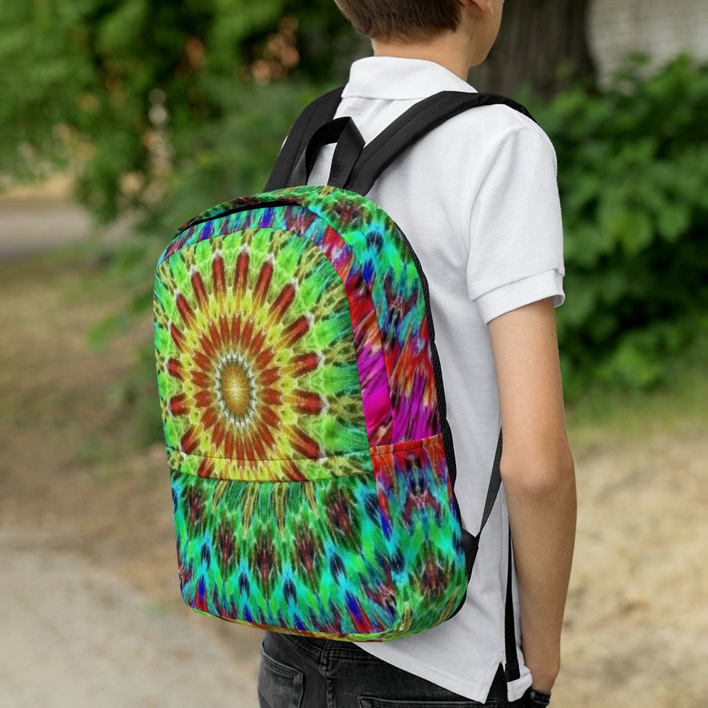 Laptop Bag Backpack - Mandala Sunrise