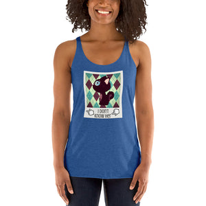 I don't know her BFF Women's Racerback Tank