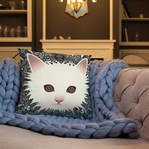 Chic Soul Kitty Basic Pillow