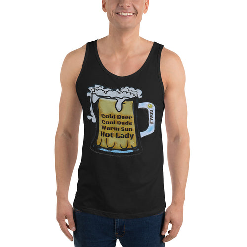 Cold Beer Hot Lady  Tank Top
