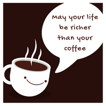 Load image into Gallery viewer, Rich Life Coffee Mug - Black and White