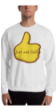 Just add coffee thumbs up Sweatshirt