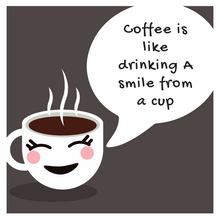 Load image into Gallery viewer, Drinking a Smile Coffee Mug - Slate