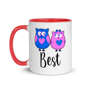 Mix and Match Couple Phrases Mug with Color Inside - Best - Gift for couples valentines day