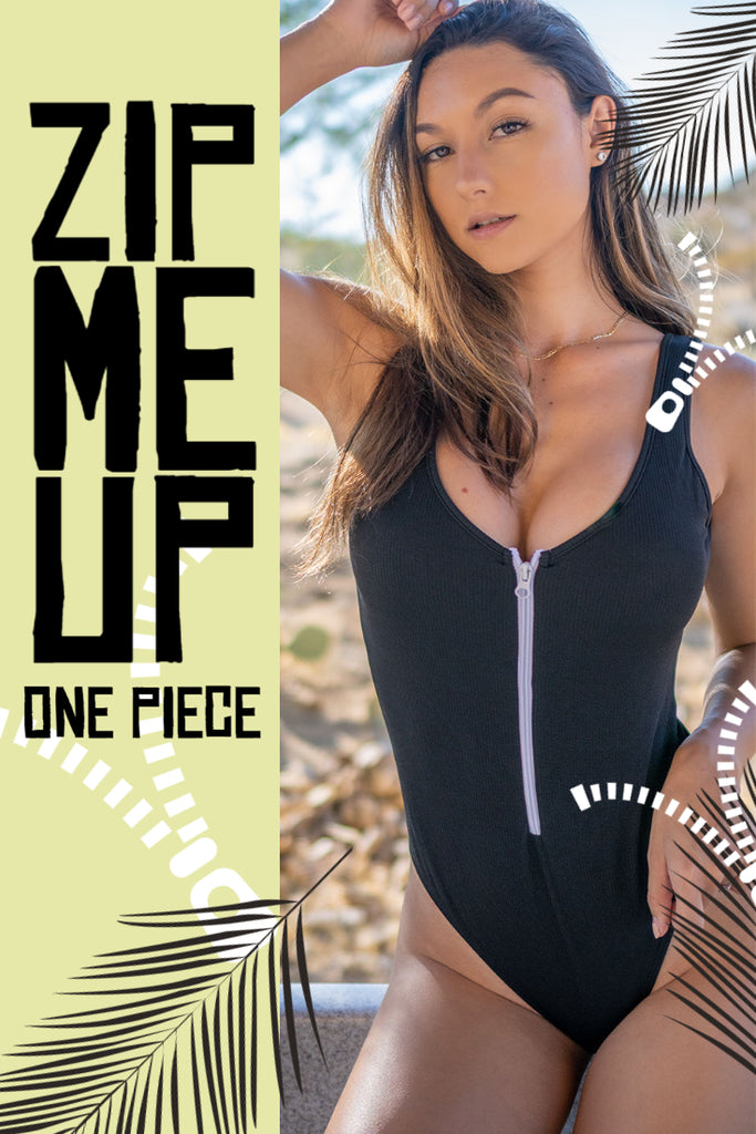 Zip Me Up One Piece