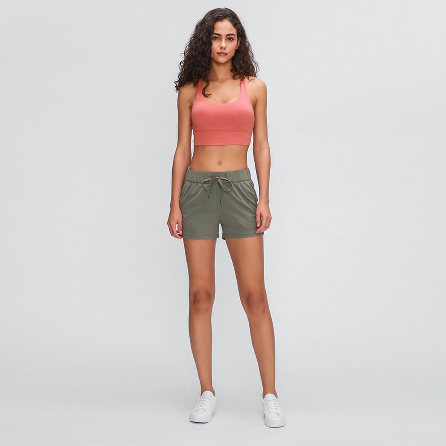 Double-Lined Active Shorts - Popstry