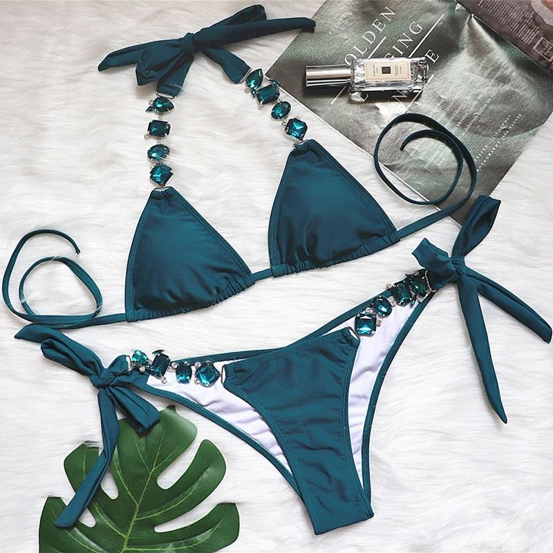 In Love With Gemstones Bikini Set - Popstry