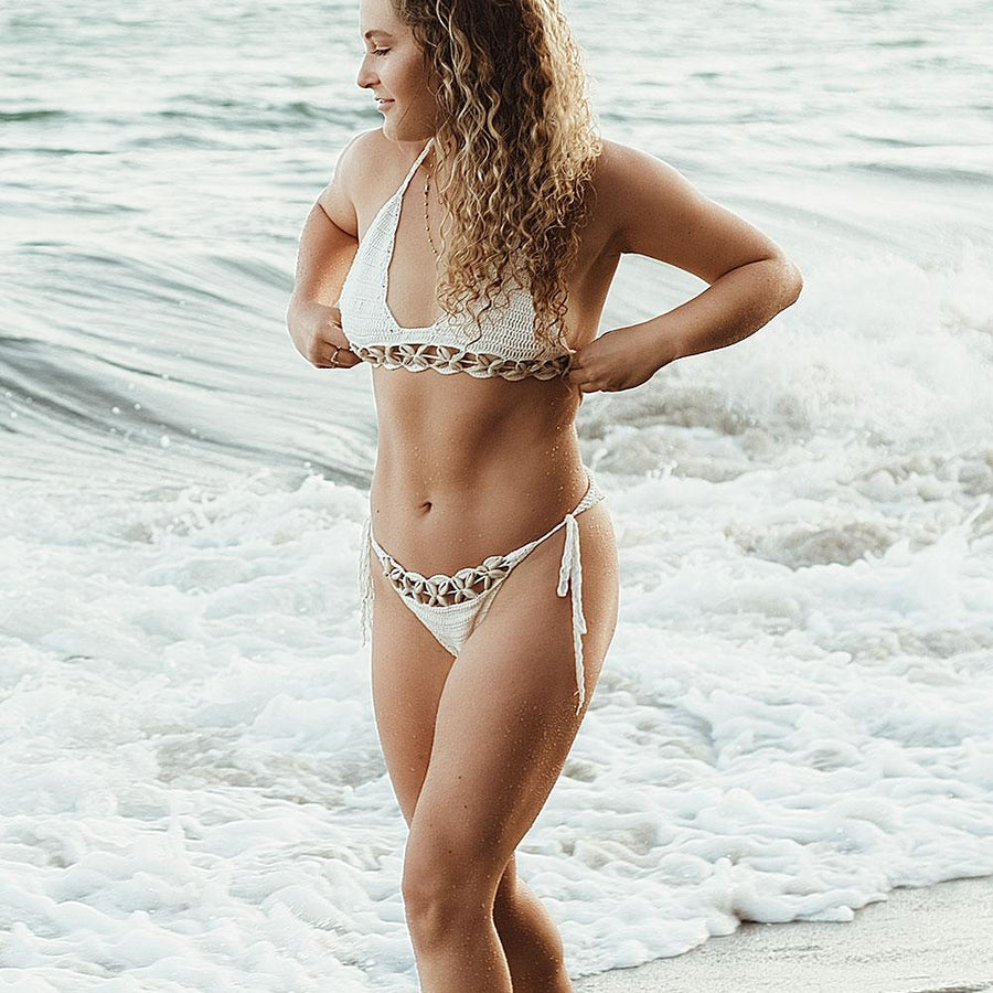 Puka Shell Crochet Bikini - Popstry