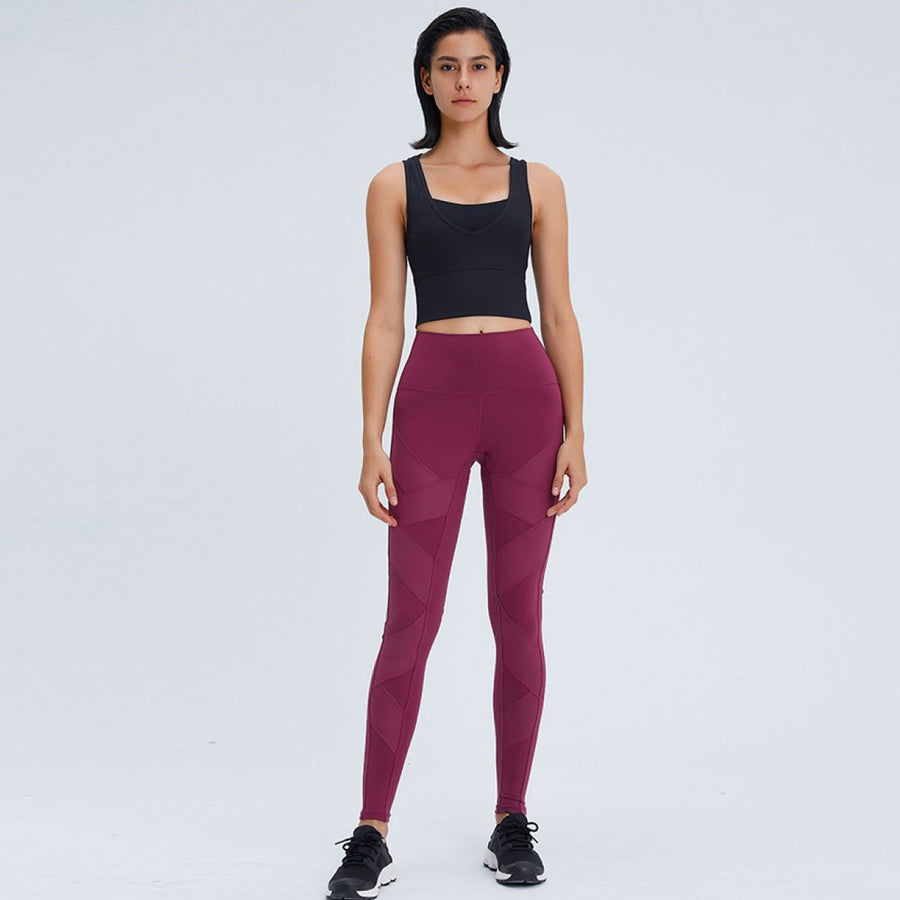 Ribbed Multiway Active Crop - Popstry