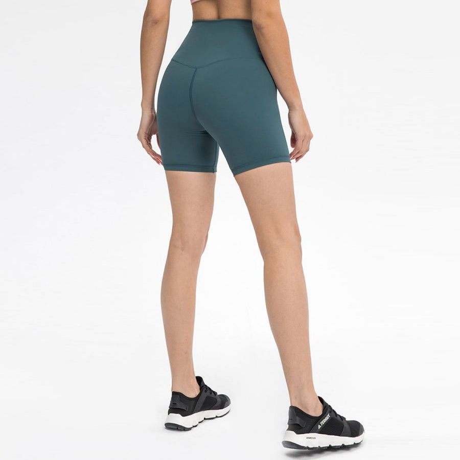 Seamless Front Biker Shorts - Popstry