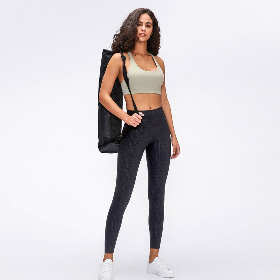 Strappy Back Sports Bra - Popstry