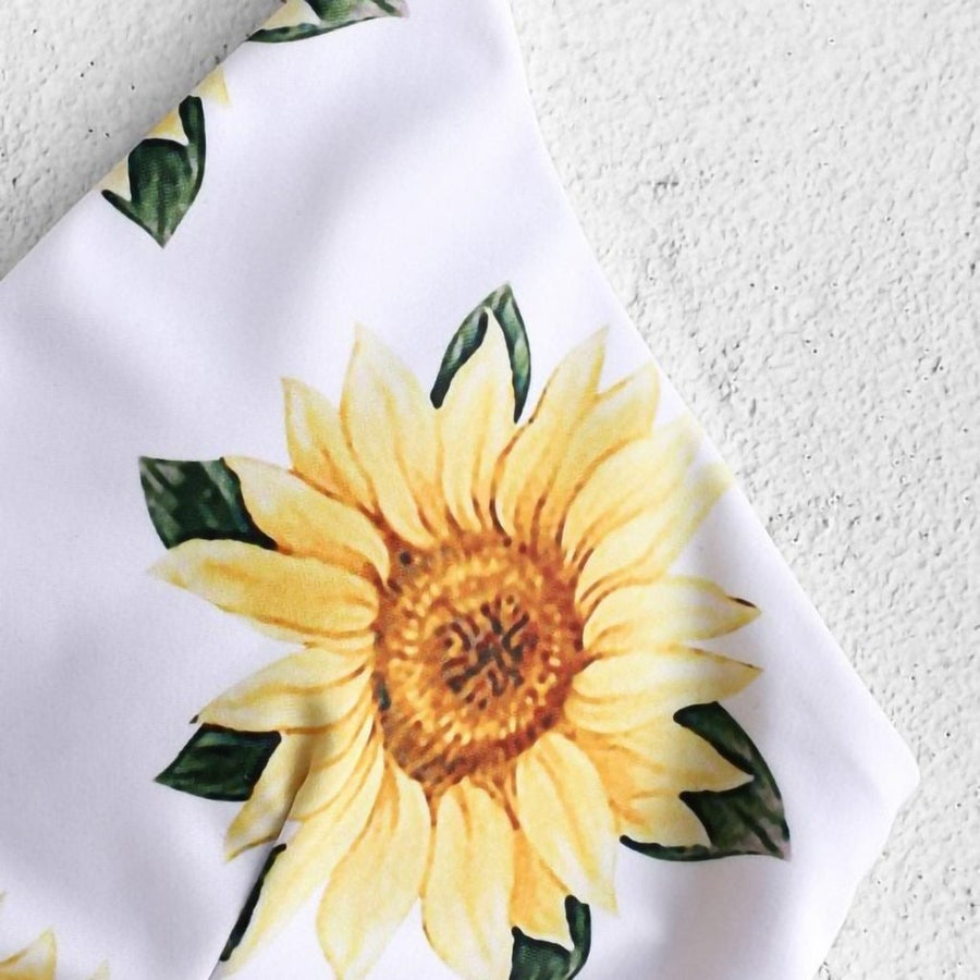 Sunflower Print Bikini - Popstry