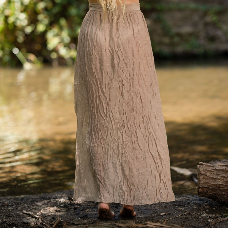Tie Maxi Skirt Cover-up - Popstry