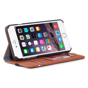 Leather Wallet Case for iPhone 6 Plus / 6s Plus (5,5 inch) (Demo)