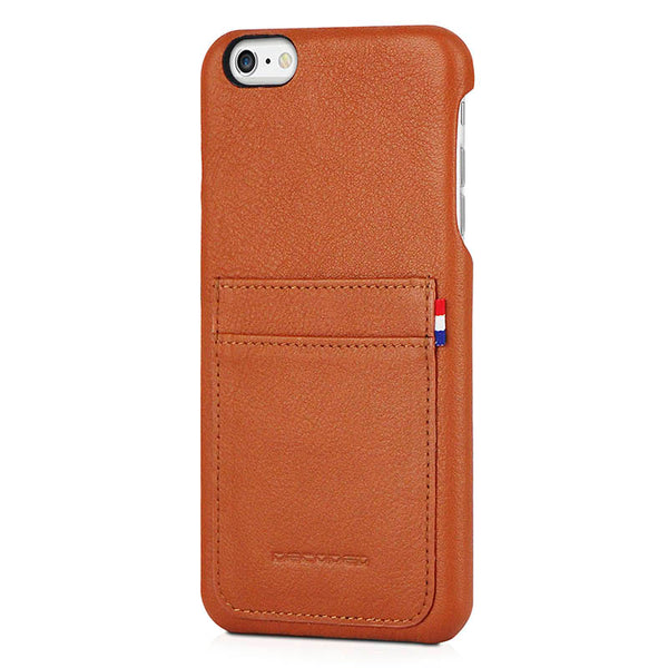 Leather back cover for iPhone 6 Plus / 6s Plus (5,5 inch)