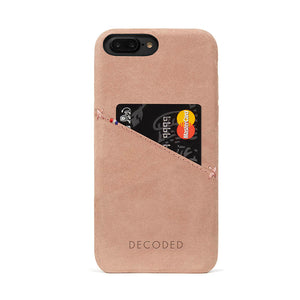 Decoded Leather Back Cover for iPhone 8 Plus / 7 Plus / 6s Plus / 6 Plus (5,5 inch)