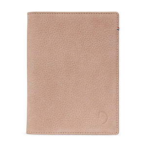 Decoded Leather Passport Holder
