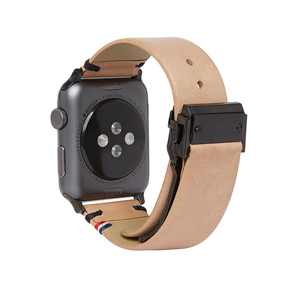 Decoded Leather strap for APPLE watch series 1/2/3 (42mm)