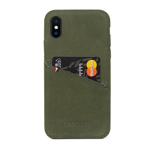 Decoded Leather Back Cover for iPhone X