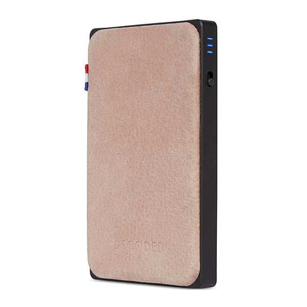 Leather Powerbank 8000 mAh