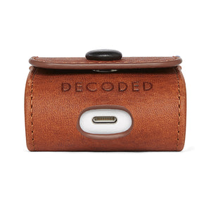Decoded Leather case for Apple AirPods