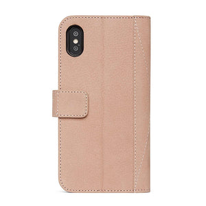 Decoded Leather 2-in-1 Wallet Case with removable Back Cover for iPhone X