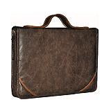 "Decoded Luxe Superior Laptop Sleeve Compatible up to 15"" brown"