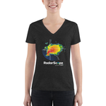 RadarScope Ladies Tri-Blend V-Neck Tee