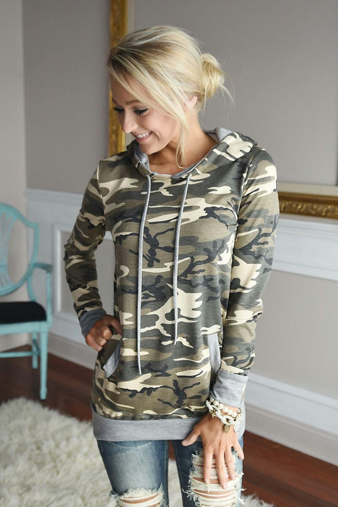 Stacey Camo Jumper