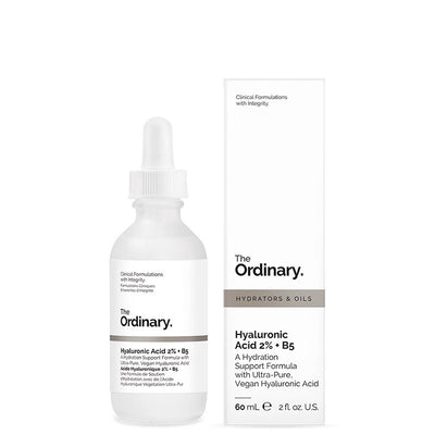 Microdermabraziune si hirratare cu Acid Hyaluronic Ultrapur - Acid Hialuronic 2% + B5 The Ordinary