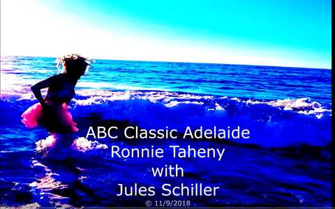 ABC radio with visual footage