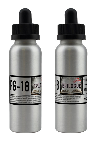 Epilogue PG-18 - 70ML ( Strawberry Cream )