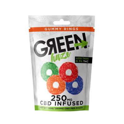 Green Haze Gummy Rings