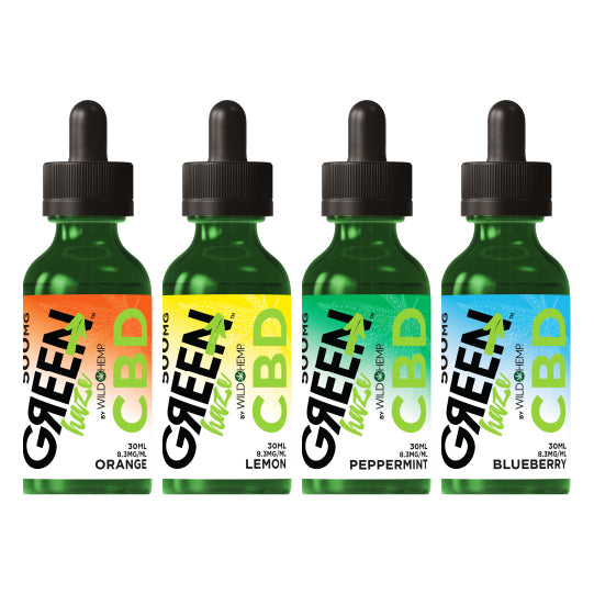 500mg Green Haze CBD Tincture
