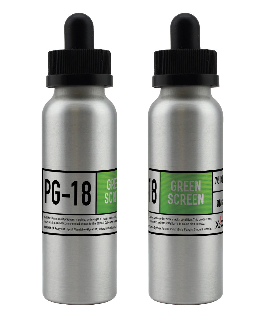 Green Screen PG-18 - 70ML ( Apple, Pear & Nectarine)