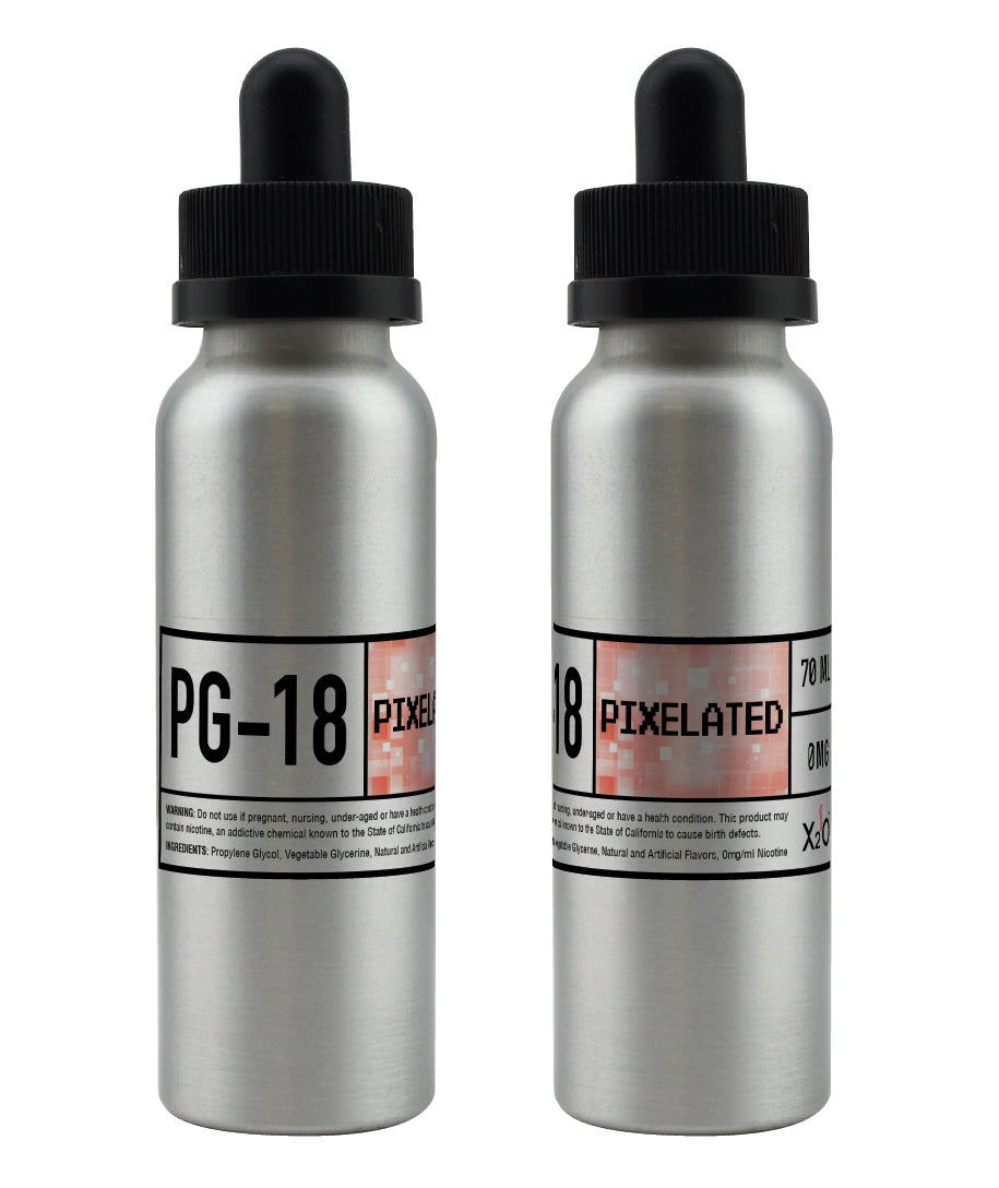 Pixelated PG-18 - 70ML ( Peach & Apricot sweet tea )