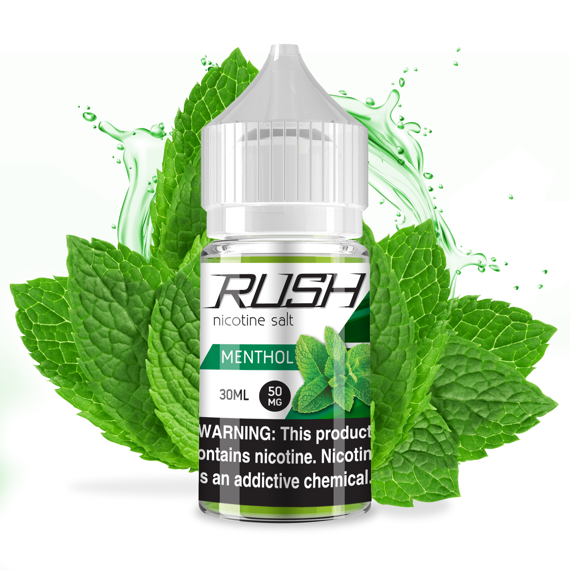 Menthol Vape Liquid 30ml Bottle