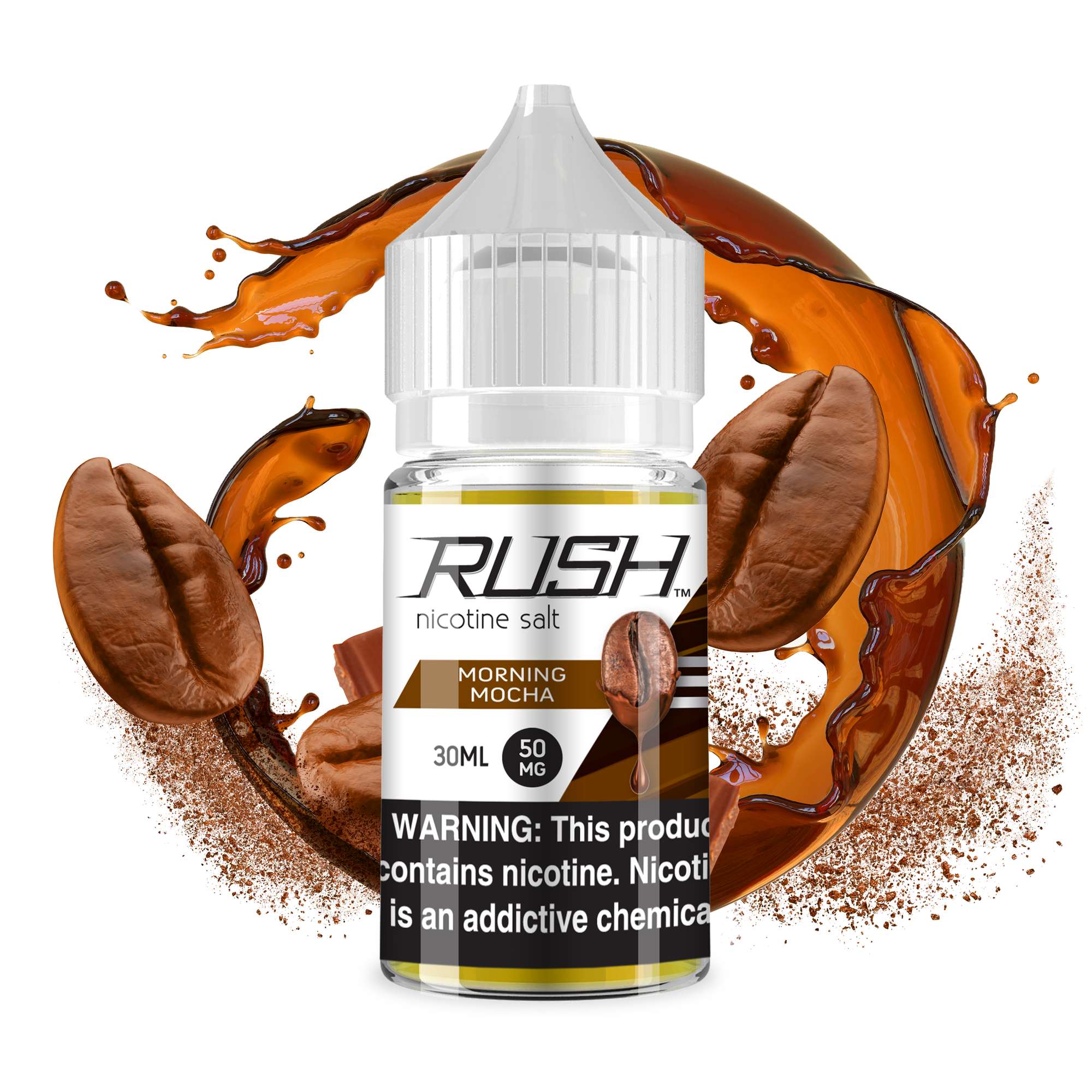 Rush Morning Mocha Coffee 30ml by venntov