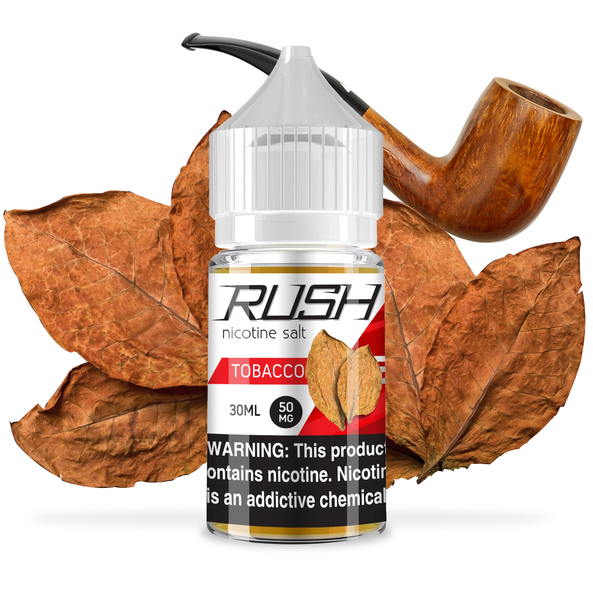 Rush Tobacco 30ml E-Juice Bottle
