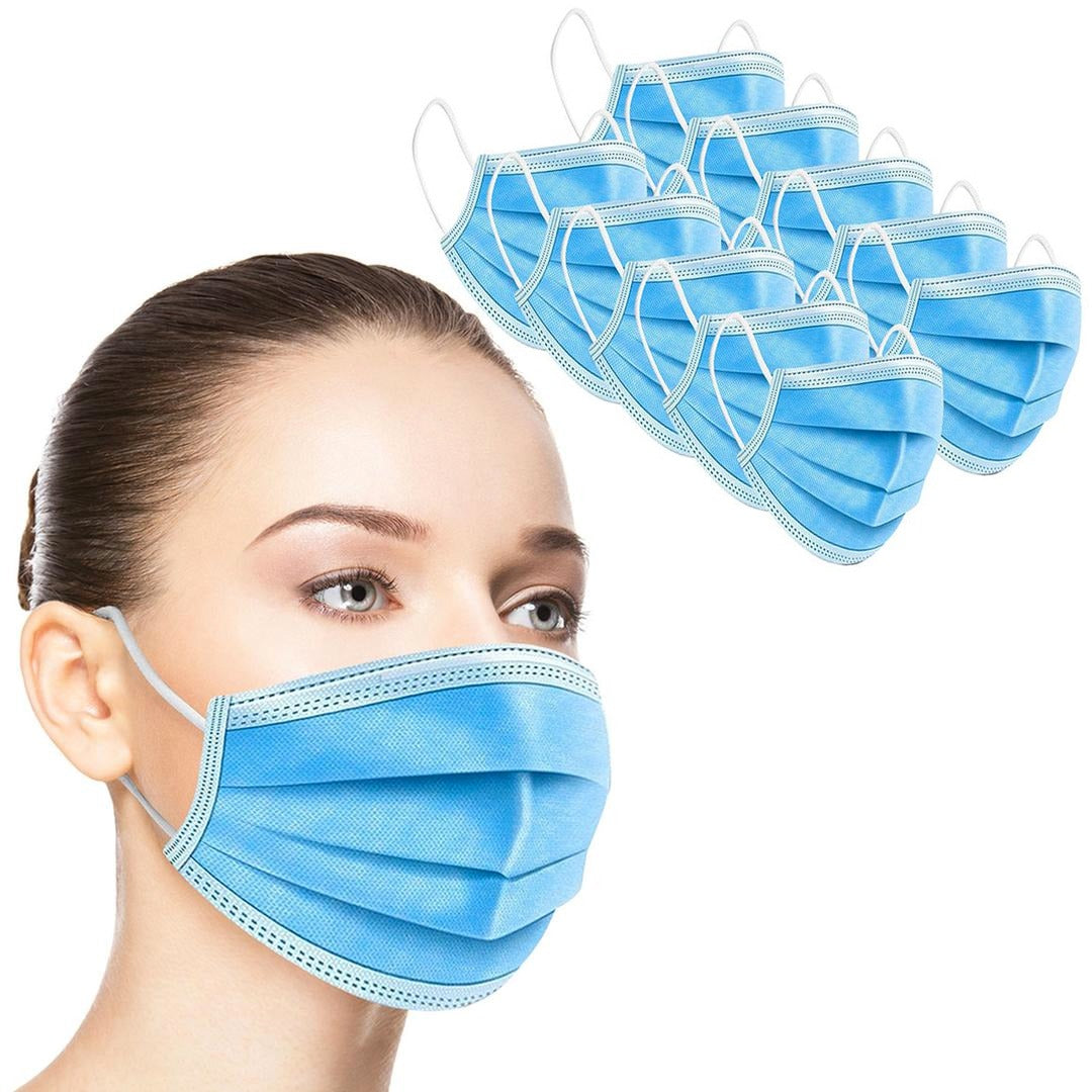 Disposable 4-Ply Face Masks (50-Pack) by venntov